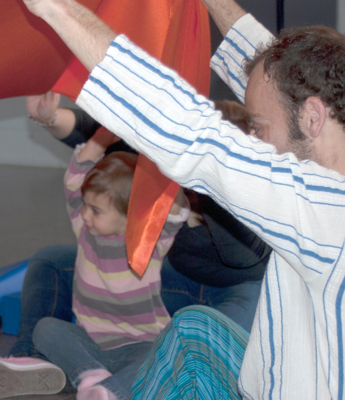 Taller de música per a nadons. Foto: David Llata.