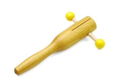 Rakatak de so molt agut, disponible a www.marimbol.com, Instruments musicales per a nens i per a la primera infància.